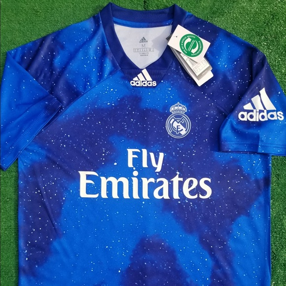 72398065d 2018 19 Real Madrid 4th kit soccer jersey Adidas